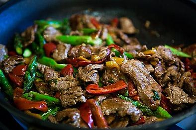 Chinese Style Beef Stir-fry
